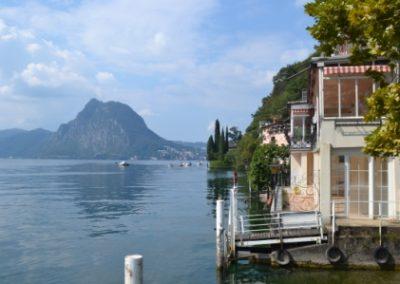 Olijvenroute Gandria van Bella Villetta chalets 10 min naar Lugano