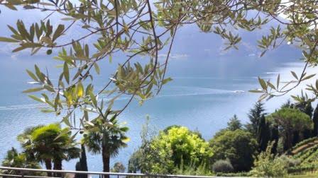 Luganomeer Gandria Zwitserland Chalets Bella Villetta naar Lugano