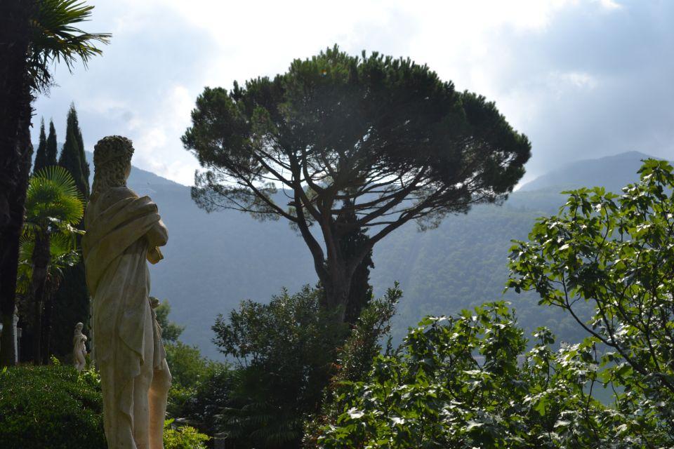 Morcote en het Park Scherrer in het zuiden van de Zwitserse Ticino
