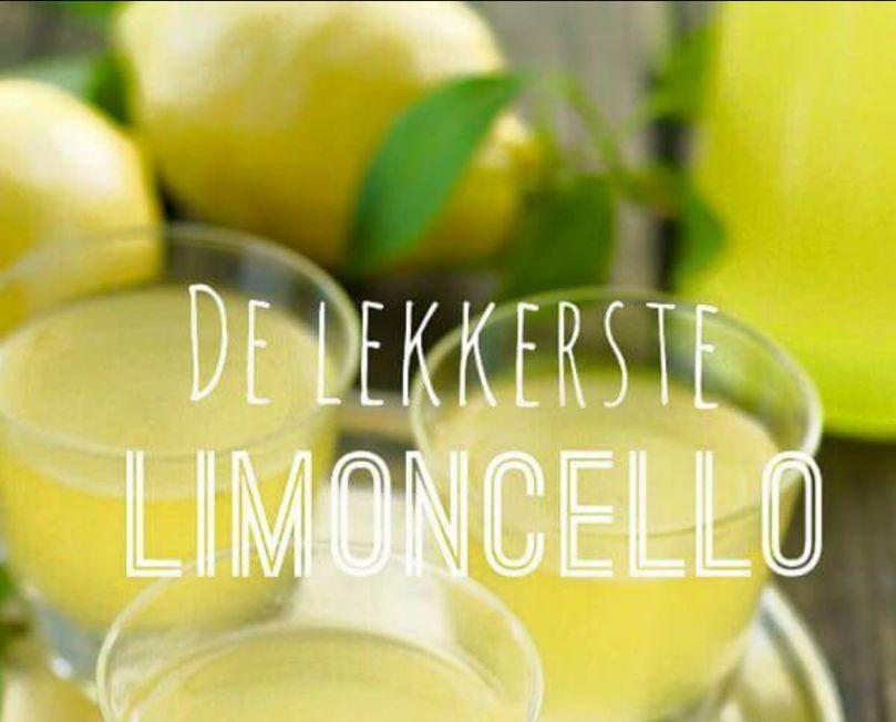 De smaak van echte Limoncello brengt Italië en de zomer in huis