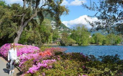 Lugano wordt ook wel het Europese Rio de Janeiro genoemd