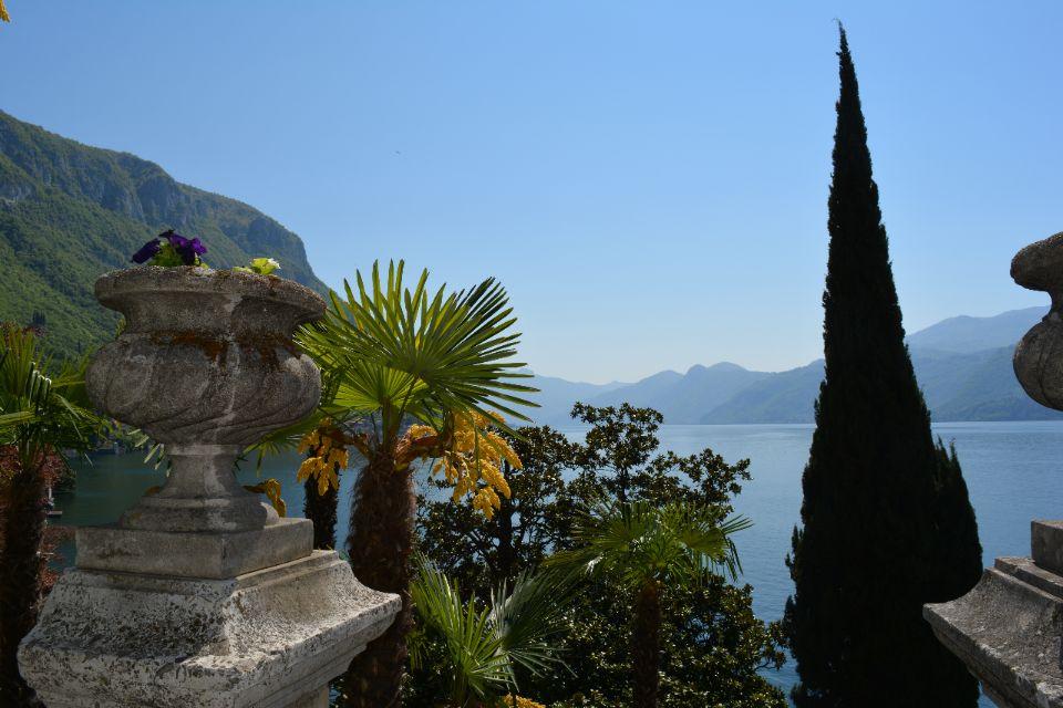 Paradijselijke meren in Noord-Italië nabij Porlezza