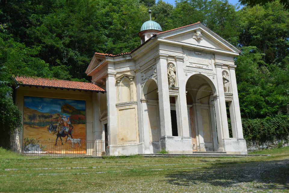 Kapel nr1 Sacro Monte Unesco di Varese chaletverhuur bella villetta porlezza