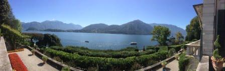 Villa Carlotta Comomeer uitzicht Botanische tuin chaletverhuur Bella Villetta Italië